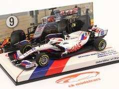 Nikita Mazepin Haas VF-21 #9 バーレーン GP 方式 1 2021 1:43 Minichamps