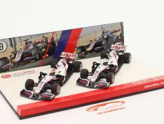 Schumacher #47 & Mazepin #9 2-Car Set Haas VF-21 formel 1 2021 1:43 Minichamps