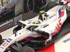 Mick Schumacher Haas VF-21 #47 Бахрейн GP формула 1 2021 1:43 Minichamps