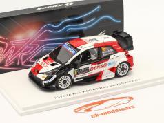 Toyota Yaris WRC #18 Шестой Rallye Monte Carlo 2021 Katsuta, Barritt 1:43 Spark