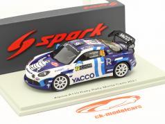 Alpine A110 Rally RGT #46 Rallye Monte Carlo 2021 Ragues, Pesenti 1:43 Spark