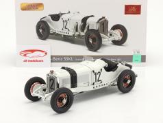 Mercedes-Benz SSKL #12 5. Tyskland GP 1931 Otto Merz 1:18 CMC