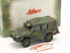 Volkswagen VW Iltis LKW 0,5t fácil Veículo militar camuflar 1:35 Schuco