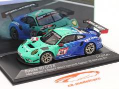 Porsche 911 GT3 R #44 24h Nürburgring 2020 Falken Motorsports 1:43 Minichamps
