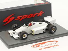 Marc Surer Arrows A6 #29 6e brésilien GP formule 1 1983 1:43 Spark