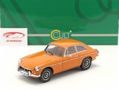 MGB GT V8 建設年 1974 オレンジ 1:18 Cult Scale