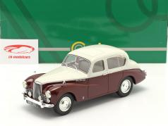 Sunbeam Talbot 90 MK III Baujahr 1954 grau / kastanienbraun 1:18 Cult Scale