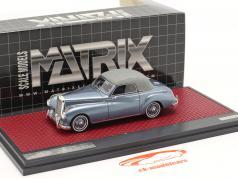 Mercedes-Benz 220 A (W187) Wendler Cabriolet Closed Top 1952 blå 1:43 Matrix