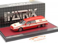 Citroen DX Break Loadrunner Früh Kölsch 1989 vermelho / Branco 1:43 Matrix