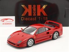 Ferrari F40 Année de construction 1987 rouge 1:18 KK-Scale
