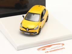 Renault Clio IV RS Construction year 2014 sirius yellow 1:43 Norev