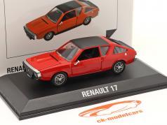 Renault 17 (R17) Ano de construção 1971-1979 vermelho / Preto 1:43 Norev