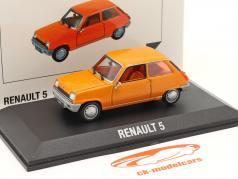 Renault 5 (R5) 建设年份 1972 橘子 1:43 Norev