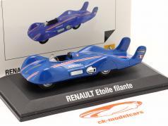 Renault Etoile Filante Speed Record Car 1956 蓝色 1:43 Norev