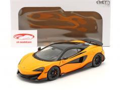 McLaren 600LT Coupe 建设年份 2018 橘子 1:18 Solido