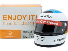 Michael Schumacher D'abord Formule 1 GP Spa 1991 casque 1:2 Schuberth