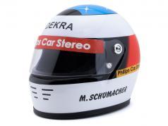 Michael Schumacher Først Formel 1 GP Spa 1991 hjelm 1:2 Schuberth