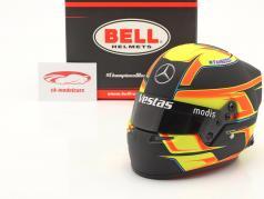 Stoffel Vandoorne #5 Mercedes-EQ Fórmula E Team temporada 7 2020/21 capacete 1:2 Bell