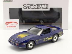 Chevrolet Corvette C4 Anno di costruzione 1988 blu / giallo 1:18 Greenlight