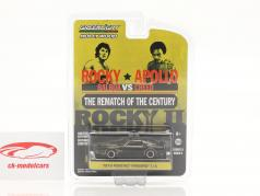 Pontiac Firebird Trans Am 电影 Rocky II (1979) 黑色的 / 金子 1:64 Greenlight