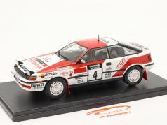 Toyota Celica GT-4 #4 vencedora Rallye 1000 Lakes Finlândia 1990 1:24 Altaya