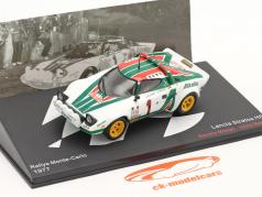 Lancia Stratos HF #1 vinder Rallye Monte Carlo 1977 Munari, Maiga 1:43 Altaya