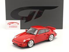Porsche 911 (964) Turbo S Flachbau Baujahr 1994 indischrot 1:18 GT-Spirit