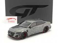 Audi RS7-R Sportback (C8) ABT Anno di costruzione 2020 Daytona Grigio 1:18 GT-Spirit