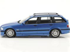 BMW 3 Series 328i (E36) Touring M Pack 1997 blauw metalen 1:18 OttOmobile