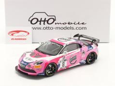 Alpine A110 GT4 #8 francês GT4 Cup 2020 Consani, Lariche 1:18 OttOmobile