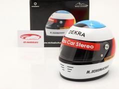 Michael Schumacher Primero Fórmula 1 GP Spa 1991 casco 1:2 Schuberth