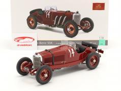 Mercedes-Benz SSK #14 vencedora Argentina Outono Raça 1931 C. Zatuszek 1:18 CMC