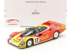 Porsche 962C #17 第二 24h LeMans 1988 Porsche AG 1:18 Norev