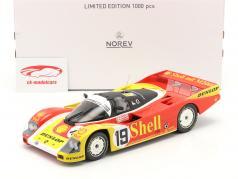 Porsche 962C #19 6º 24h LeMans 1988 Porsche AG 1:18 Norev