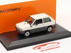 Fiat Panda bouwjaar 1980 Room wit / Grijs 1:43 Minichamps