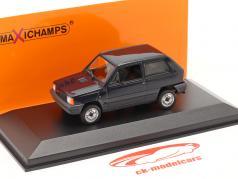 Fiat Panda Ano de construção 1980 azul 1:43 Minichamps