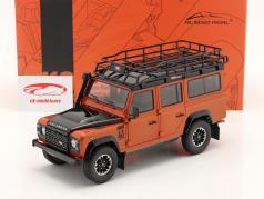 Land Rover Defender 110 Adventure Edition 2015 orange 1:18 Almost Real