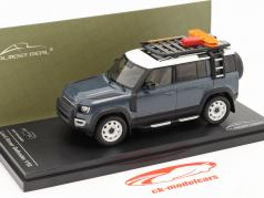 Land Rover Defender 110 建设年份 2020 tasman 蓝色 1:43 Almost Real