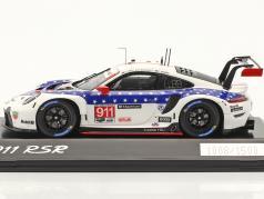 Porsche 911 RSR #911 winnaar GTLM-klasse 12h Sebring IMSA 2020 1:43 Spark