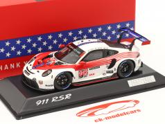 Porsche 911 RSR #912 2e GTLM-klasse 12h Sebring IMSA 2020 1:43 Spark