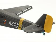 Junkers Ju52/3m Avião 1932-52 A. Jean-Baptiste Salis verde azeitona 1:72 Schuco