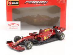 S. Vettel Ferrari SF1000 #5 1000th GP Ferrari Toscana GP F1 2020 1:18 Bburago / 2 escolha