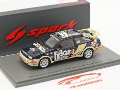 Ford Sierra RS Cosworth #15 Séptimo Rallye Tour de Corse 1989 1:43 Spark