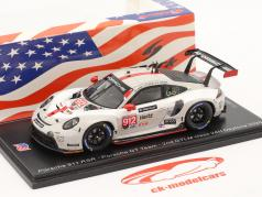 Porsche 911 RSR #912 2. GTLM klasse 24h Daytona 2020 Porsche GT Team 1:43 Spark