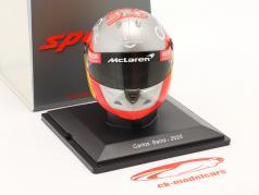 Carlos Sainz jr. #55 McLaren F1 Team Fórmula 1 2020 capacete 1:5 Spark