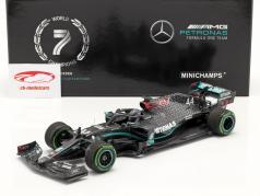 L. Hamilton Mercedes-AMG F1 W11 #44 vinder tyrkisk GP formel 1 Verdensmester 2020 1:18 Minichamps