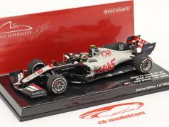 Mick Schumacher Haas VF-20 #50 FP1 Abu Dhabi GP formel 1 2020 1:43 Minichamps