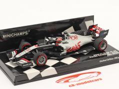 Pietro Fittipaldi Haas VF-20 #51 アブ ダビ GP 方式 1 2020 1:43 Minichamps