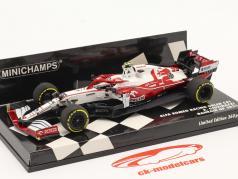 A. Giovinazzi Alfa Romeo Racing C41 #99 Bahréin GP fórmula 1 2021 1:43 Minichamps
