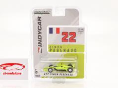 Simon Pagenaud Chevrolet #22 IndyCar Series 2021 1:64 Greenlight
